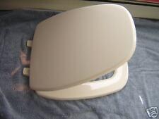 Eljer Emblem Elongated Plastic square front toilet seat Biscuit Natural Gray