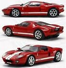 IWAVER 1:28 6 7/12ft Ford Gt Red on-Road Car Electric Brushed Radio Fm 2WD Rtr