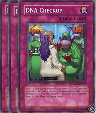 CSOC EN078 3X UNL ED DNA CHECKUP COMMON CARDS