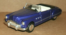 1/43 Scale 1949 Buick Century Convertible Diecast Car Model - New Ray Purple
