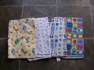 Baby's Flannelette Blankets/Wraps/Rugs x 4 GC