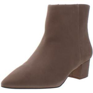 Corso Como Womens Freen Leather Booties Block Heel Ankle Boots Shoes BHFO 3432