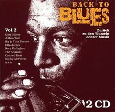 Back to Blues 2 (30 tracks, 1991) Gary Moore, Jethro Tull, Ike & Tina T.. [2 CD]