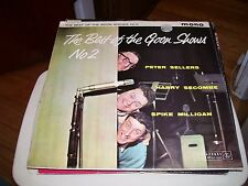 THE BEST OF THE GOON SHOWS NO.2-LP-VG+-PARLOPHONE-PETER SELLERS-SPIKE MILLIGAN