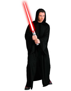 """Star Wars Mens Sith Robe Costume Style 1, Std, CHEST 44"""""""