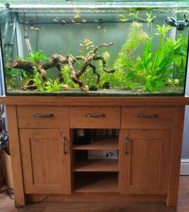 Aqua one  oak style 230 tropical, coldwater or marine aquarium