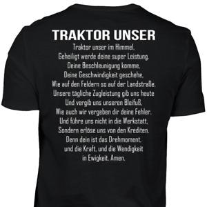 Traktor Unser im Himmel T-Shirt Landwirt Bauer Trecker Agrar Landwirtin Bäuerin