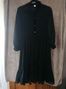 Zara Basic Black Dress (size M)