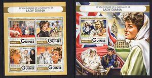 Guinea 2016 - Princess Lady Diana - Timbres Briefmarken francobolli MNH** Z17