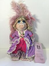 Miss Piggy As Marie Antoinette Muppet Porcelain  Doll #1238 Out Of 2500