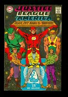 JUSTICE LEAGUE OF AMERICA #57 -- November 1967 -- VF+ Or Better