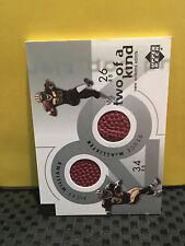 2001 UPPER DECK # 2K-NO TWO OF A KIND * SAINTS 2 CARD LOT * READ DESC. * RF-6965