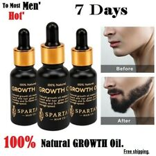 7 Days New Fast Beard Growth Oil Serum Growing Beard Mustache 'POWER OF MEN'