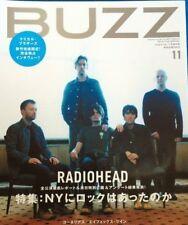 BUZZ Japan Music Magazine 11/2001 #29 Radiohead Chemical Brothers Strokes