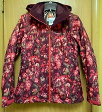 NEW Columbia Whirlibird Interchange 3-in-one Ski Snowboard Jacket Womens M Rose