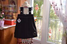 robe victoria couture noir ecusson 8 ans ideal fetes avec chemisier