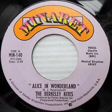 BERKELEY KITES sunshine pop psych MINARET 45 ALICE IN WONDERLAND WHAT GOES F2505