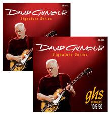 GHS GBDGG David Gilmour Pink Floyd 10.5-50 Electric Guitar Strings TWIN SET