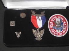 Boy Scout Eagle Scout Medal, CFJ 2/3 in presentation case 925,sterling      eb03