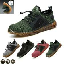 Men's Womens Steel Toe Cap Work Safety Shoes Hiking Trainers Boots All