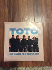 Toto-The seventh one- Straight For The Heart Unplayed 45 rpm