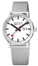 Mondaine evo2 Big Stainless Steel Mesh Bracelet Mens Watch MSE.40210.SM £239