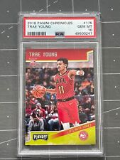 2018 Panini Chronicles Trae Young Playoff #175 RC ROOKIE GEM PSA 10