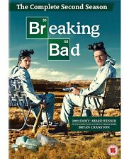 Breaking Bad - Season/ Series 2 - Complete (DVD 4-Disc Box Set) CULT DRAMA