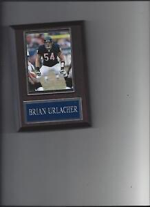 BRIAN URLACHER PLAQUE CHICAGO BEARS FOOTBALL NFL