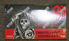 SONS OF ANARCHY Seasons 4 & 5 Trading Cards Cryptozoic Factory Sealed Hobby Box