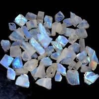 500 Cts. 100% Natural Rainbow Moonstone Rough Wholesale Lot
