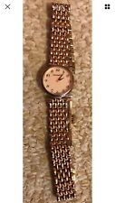 Michael Hill Gold Women's Watch Swiss Movement Mineral Crystal , extra links