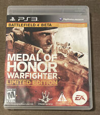 Medal Of Honor Warfighter Limited Edition Sony Playstation 3 PS3 ~ Complete!