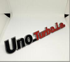 FIAT UNO TURBO I.E. - Rear logo badge emblem script