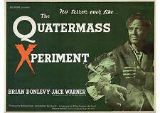 Quatermass Experiment - A4 Laminated Mini Movie Poster - Hammer Horror