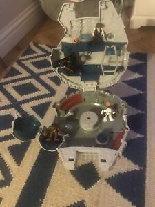Rare Star Wars Hasbro Playskool Heroes Millenium Falcon, With Extra Characters