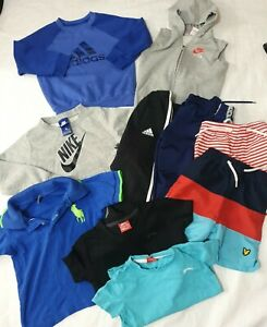 2-3 years boys bundle adidas nike lyle &scott shorts tops jumpers summer (22)