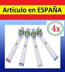 4x recambios EB-18a par cepillo de dientes electrico Oral B Vitality Braun EB18A