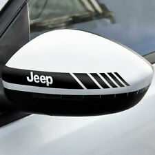 2x Rückspiegel Streifen Jeep Autoaufkleber Decal Tuning Shocker Sticker JDM