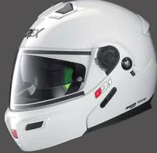 CASCO MOTO MODULARE APRIBILE GREX G9.1 EVOLVE KINETIC N-COM BIANCO METAL TG.S