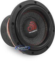 "New Massive Audio SUMMO 64 300W 6.5"" Single 4 Ohm Car Audio Subwoofer 6-1/2"" Sub"