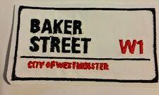 Baker Street embroidered patch Sherlock