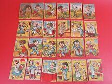 2 Anciens Jeux de Cartes. Familles. XIXème siècle