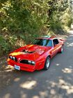 1977 Pontiac Trans Am Trans Am 1977 Pontiac Trans Am Sportscar Red RWD Automatic Trans Am