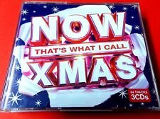 NOW THAT'S WHAT I CALL XMAS   2010  3 x CD   *EX/NM*  DARKNESS  GIRLS ALOUD ABBA