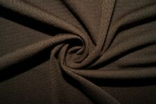 Brown #36 Bullet Double Knit Stretch Polyester Lycra Spandex Fabric BTY