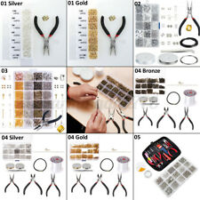 Craft DIY Wire Jewelry Making Starter Kit Findings Supplies Sterling Repair