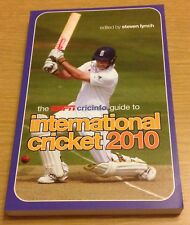 THE ESPN CRICINFO GUIDE TO INTERNATIONAL CRICKET 2010 Book (Paperback) NEW