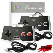 2 x iNNEXT Classic  NES USB Gamepad Controller For PC MAC and Raspberry Pi