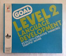 Vintage Goal Level 2 Language Development Cards